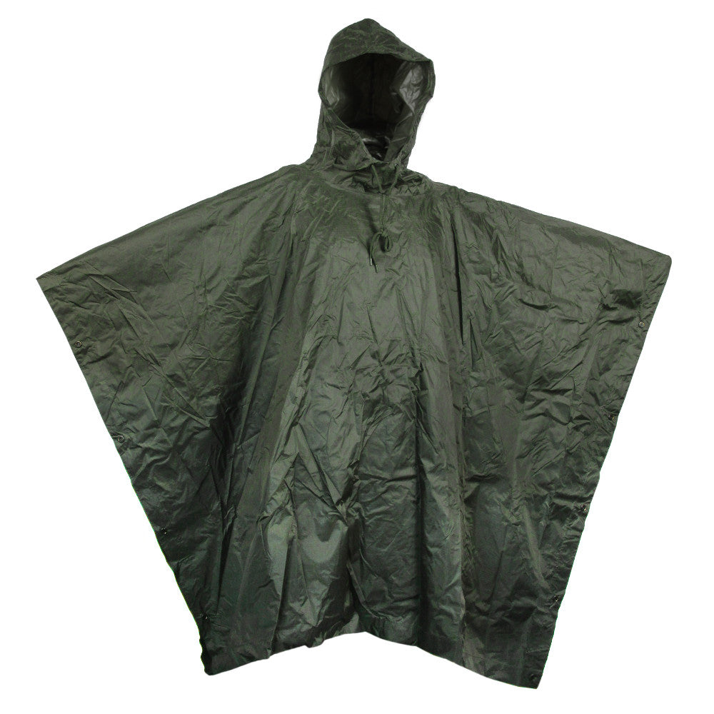 8400850a105 Military Style Waterproof Poncho