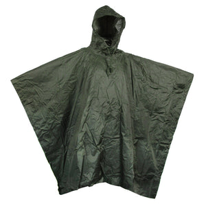 Military Style Waterproof Poncho