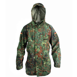 German Flecktarn Rain Jacket