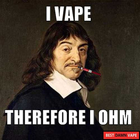 Descartes Vaping Meme