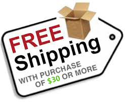 Free US Shipping on $30 or more