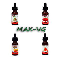 Fruity 4-Pack of MaxVG E-Juice - Best Damn Vape