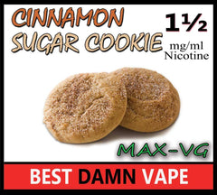 Cinnamon Sugar Cookie Max-VG E-Juice - Best Damn Vape - 2