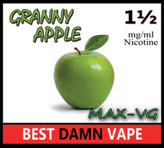 Granny Apple Max-VG E-Juice - Best Damn Vape - 2
