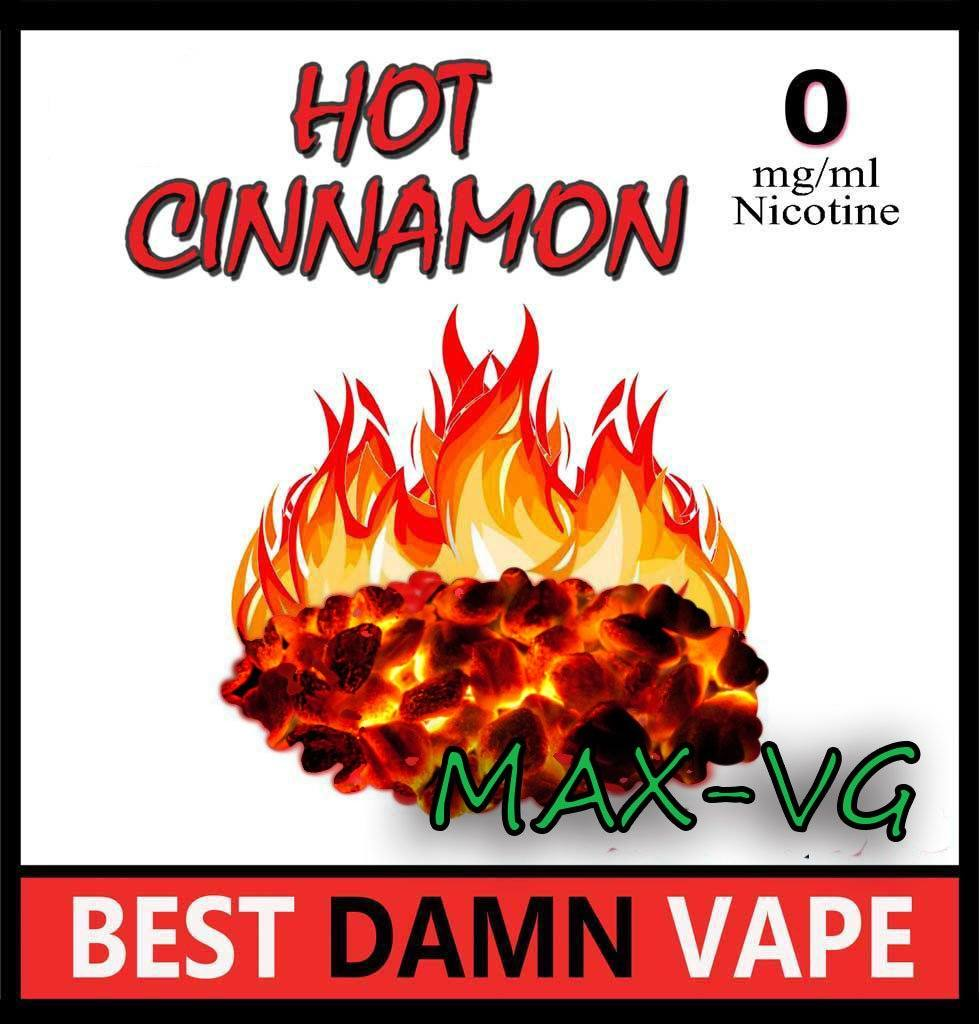 Red Hot Cinnamon Max-VG E-Juice - Best Damn Vape -1