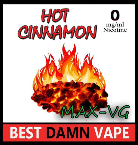 Hot Cinnamon Max-VG E-Juice
