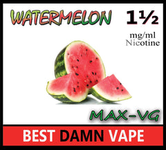 Watermelon Max-VG E-Juice - Best Damn Vape - 2