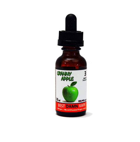 Overstock 6mg Granny Apple E-Liquid