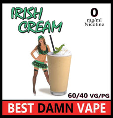 Overstock 12mg Irish Cream E-Liquid - Best Damn Vape - 3