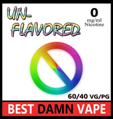 Overstock 0mg Naked Unflavored E-Liquid - Best Damn Vape - 3