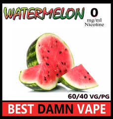 Overstock 12mg Watermelon E-Liquid - Best Damn Vape - 3