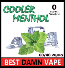 Cooler Menthol E-Liquid - Best Damn Vape - 2