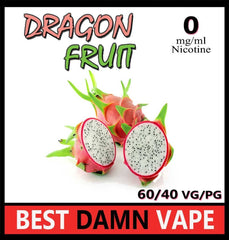 Dragon Fruit E-Liquid - Best Damn Vape - 3
