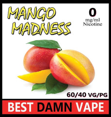 Mango Madness E-Liquid - Best Damn Vape - 2