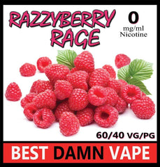 Razzyberry Rage E-Liquid - Best Damn Vape - 3