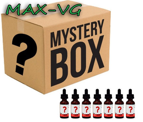 Mystery Assortment 7-Pack of MaxVG E-Juice