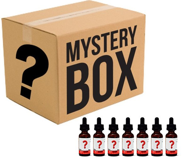 Mystery Assortment 7-Pack of 30ml E-Juice - Best Damn Vape