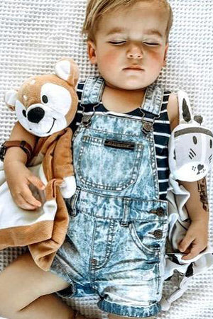 Denim Overalls - Baby by Beau Hudson