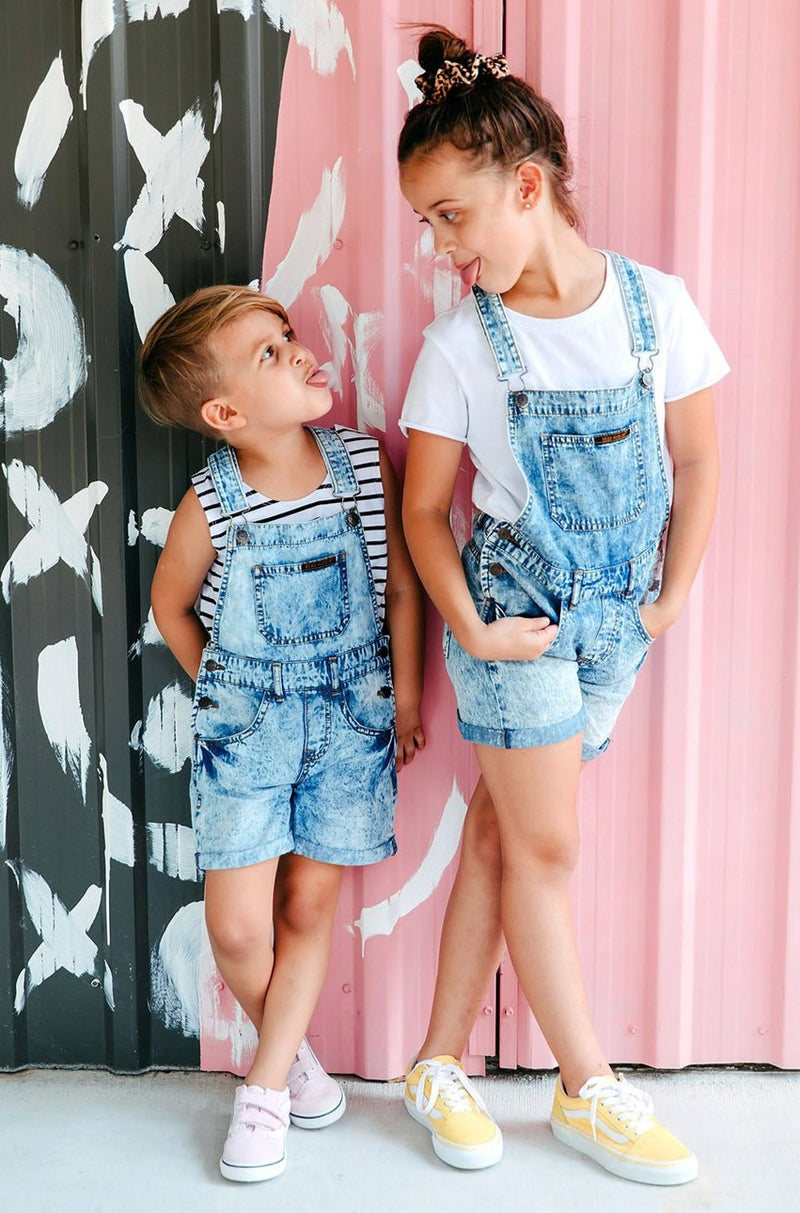 Kids Denim Overalls - Kids by Beau Hudson - main pic