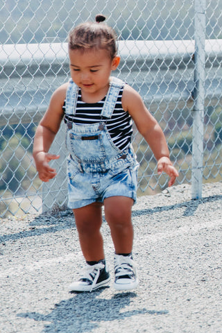 Denim Overalls for Babies