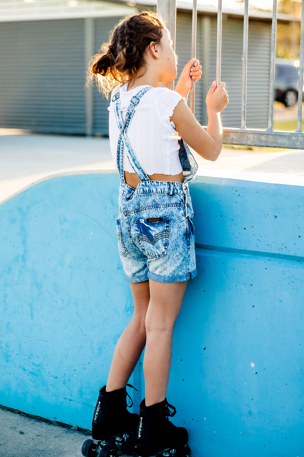 Denim Overalls - Kids