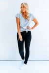 Black Non-Distressed Denim Jeans for Women