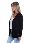 Signature Jet Black Cardigan - Womens by Beau Hudson 4