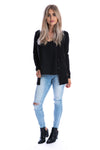 Signature Jet Black Cardigan - Womens by Beau Hudson 5