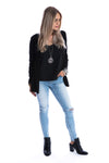 Signature Jet Black Cardigan - Womens by Beau Hudson 6