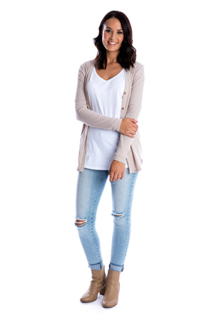 Signature Latte Cardigan - Women by Beau Hudson 2