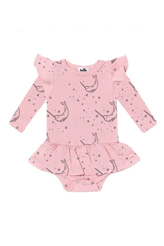 Narwhal Dress Onesie
