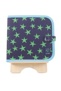 Doodle It & Go Eraseable Book | Green Stars