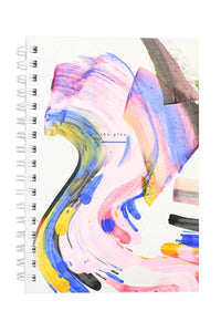 Rainbow Weekly Jotter Journal