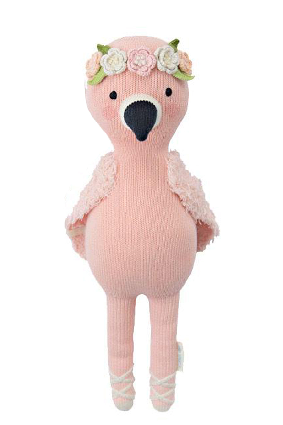 Penelope the Flamingo Knit Doll