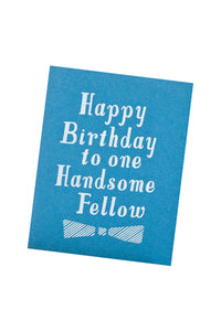 Handsome Birthday Card
