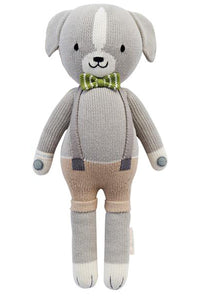 Noah the Dog Knit Doll