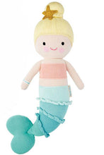 Load image into Gallery viewer, Skye the Mermaid Knit Doll