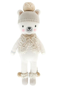 Stella the Polar Bear Knit Doll