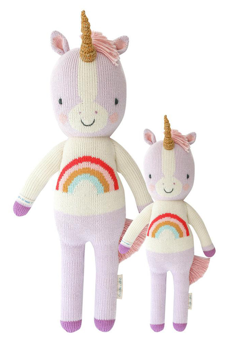 Zoe the Unicorn Knit Doll