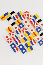 Load image into Gallery viewer, Flag Wooden Dominoes