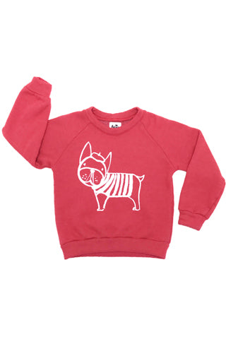 Raglan Frenchie Sweatshirt