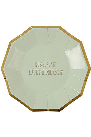 Happy Birthday Plates