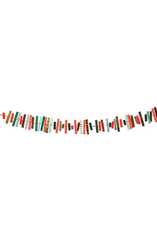 Sparkly Striped Garland