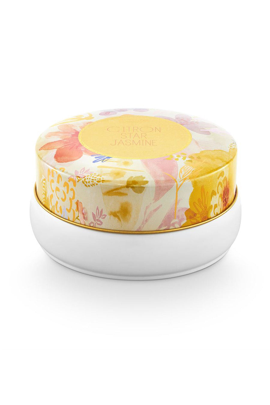 Citron Jasmine Bouquet Tin Candle