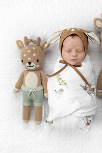 Elliott the Fawn Knit Doll