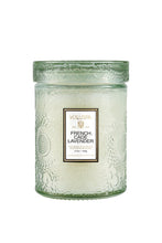 Load image into Gallery viewer, Voluspa Small Embossed Glass Candle Jar