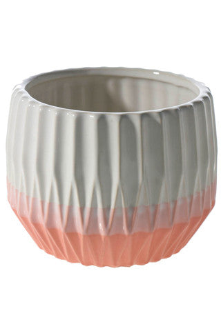 Sunrise Coral Pot