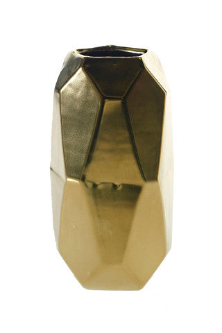 Maven Faceted Vase