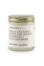 Load image into Gallery viewer, Adulting Candle