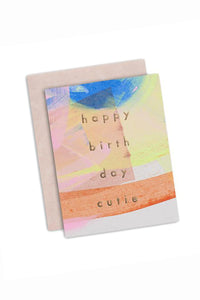Birthday Cutie Card